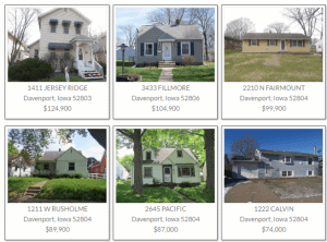 davenport foreclosures reo